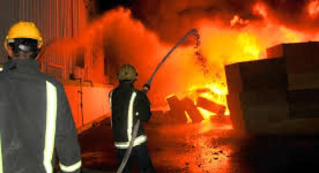 مراكش: حريق مهول في أحد الأسواق التجارية الكبرى + فيديو