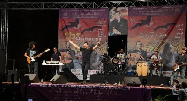 الليلة الخامسة من مهرجان صيف الاوداية: نصر ميكري يلهب الجمهور في مسقط رأسه