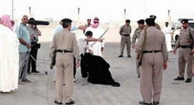 """السعودية تعدم أثيوبية قتلت طفلة """"نحرا بسكين"""""""