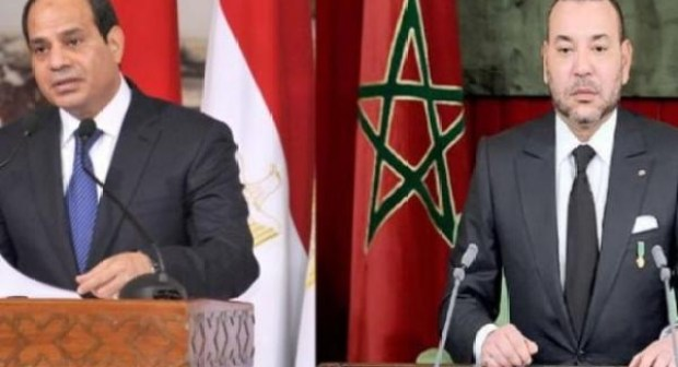 بعد موقفه المتخاذل .. السيسي يهنئ المغرب على العودة للاتحاد الإفريقي