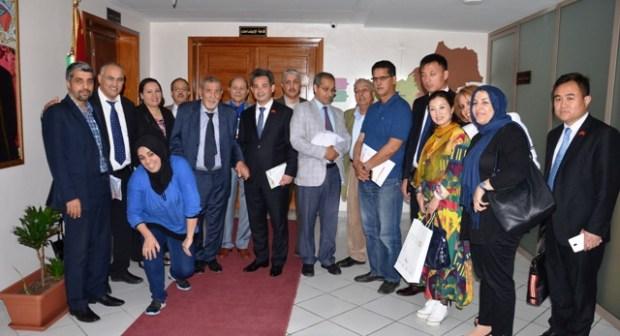 Délégation de la République Populaire de Chine  en prospection économique dans la région Souss-Massa