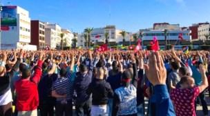 منظمة العفو الدولية – متظاهرو الريف يعاقبون بحملة من الاعتقالات الجماعية