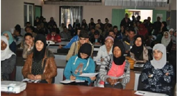 des eleves de la region Draa Tafilalte en visite