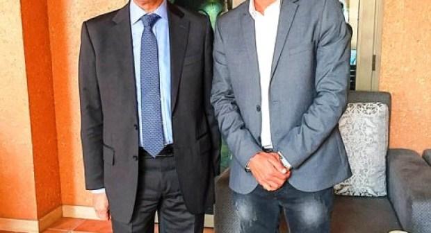 رئيس نادي اكادير للجيت سكي يعقد لقاء  مع وزير الشبيبة والرياضة حول مستقبل الجيت سكي  باكادير وافريقيا