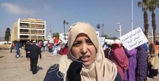 فيديو: تصريح إحدى المتضررات بسفوح الجبال بأكادير