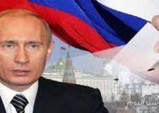إعادة انتخاب الرئيس الروسي فلاديمير بوتين لولاية رابعة من ست سنوات