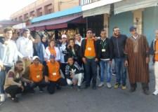 جمعية الشعلة فرع اكادير في صلب العمل الاجتماعي والتضامني
