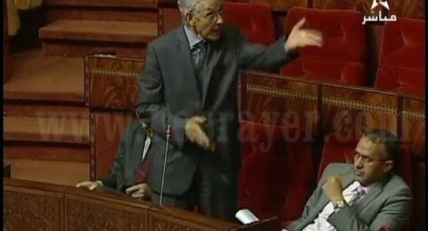 فيديو:  بسبب حملة المقاطعة برلمانيون يهاجمون الوزير الداودي بشدة