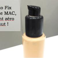 Le teint zéro défaut est chez Mac