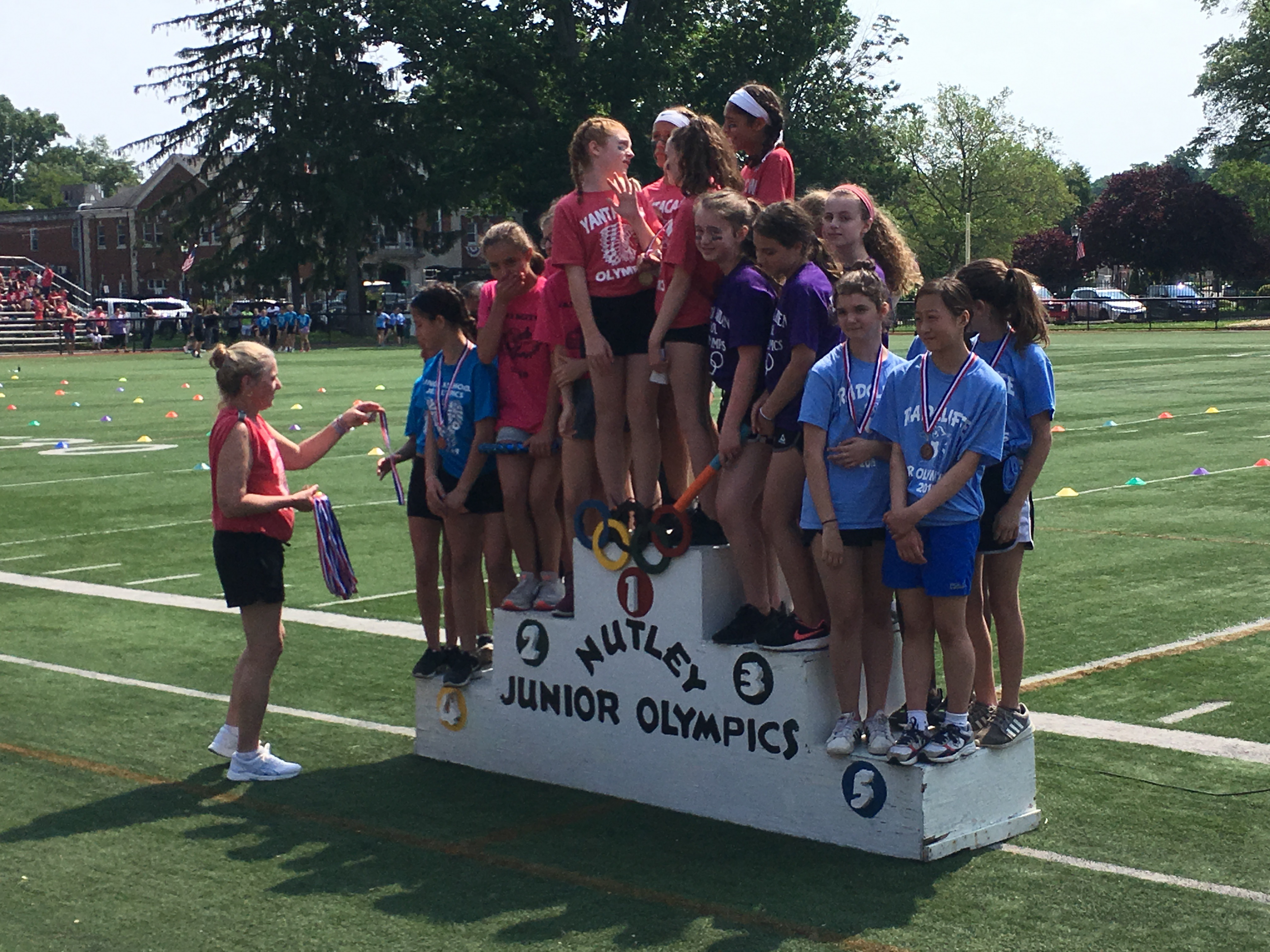 Elementary Schools Compete In The Junior Olympics