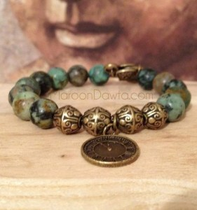 What time is it? Jasper Bracelet-163