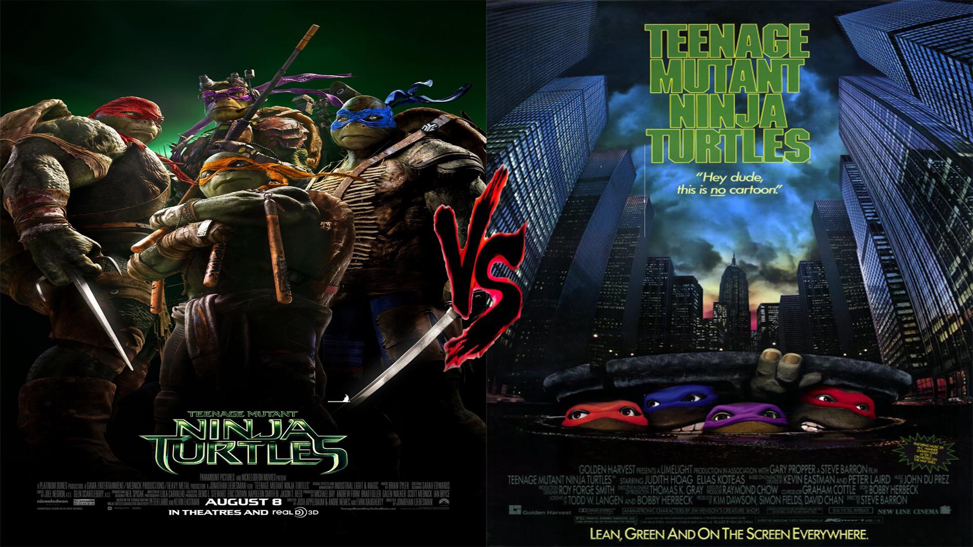 Remake Showdown Teenage Mutant Ninja Turtles 1990 Vs 2014 Marooners Rock