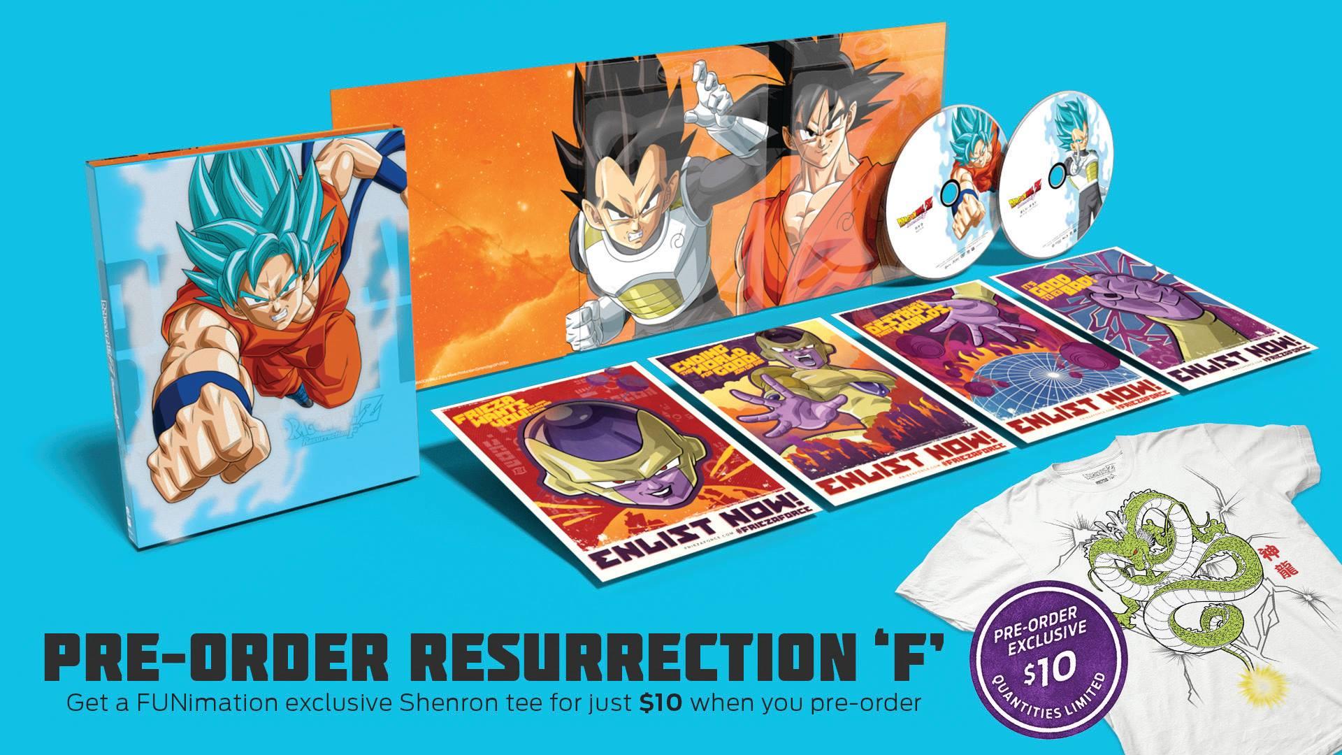 Funimation Entertainment Announces Dragon Ball Z Resurrection F