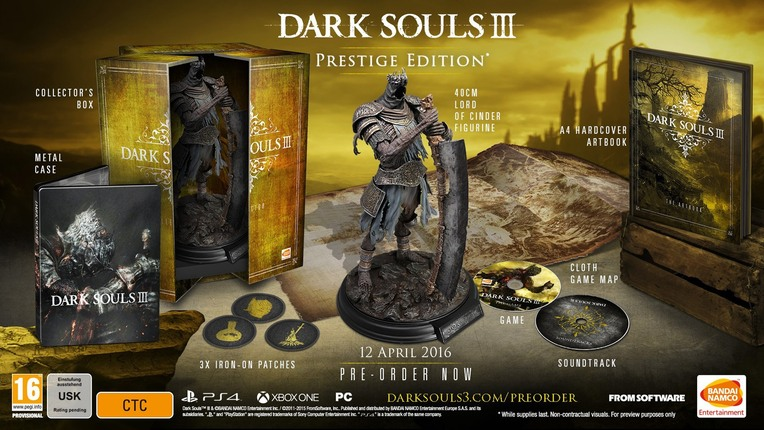 Dark Souls 3 Release Date And Collectors Editions Announced