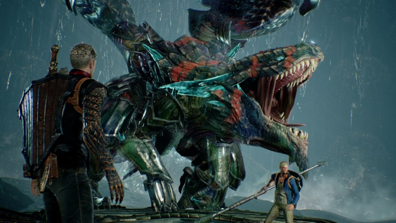 Scalebound is just one of several new games supporting Play Anywhere.