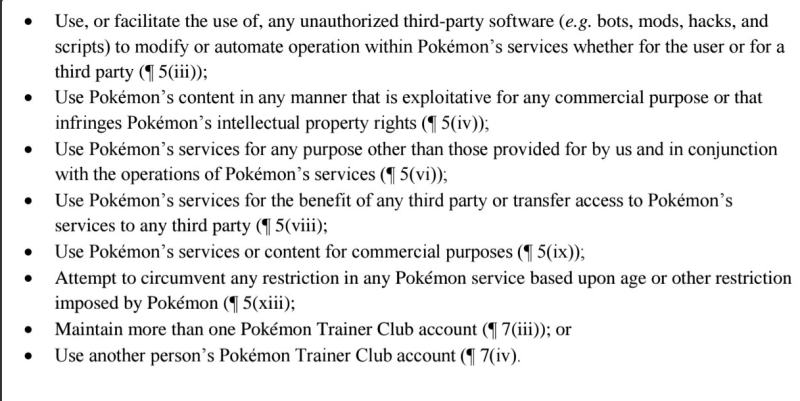 Niantic Cease and Desist Letters