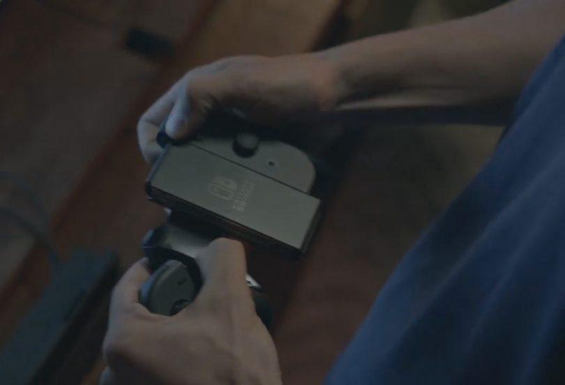 nintendo switch controller screen