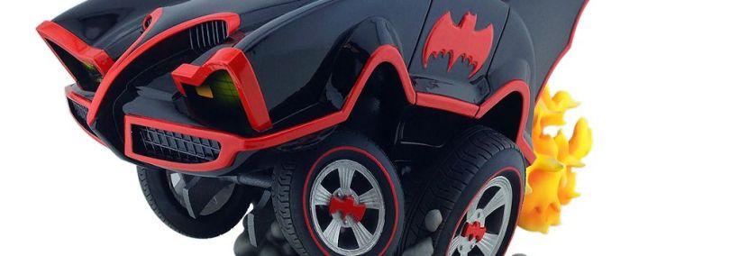 Cryptozoic Releases Batman Classic TV Series Batmobile Statue This Week