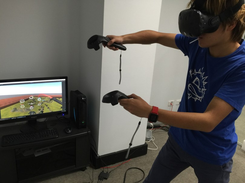 Siegecraft Commander VR Play