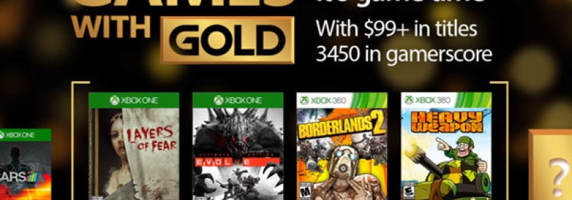 Games with Gold For March 2017 Announced
