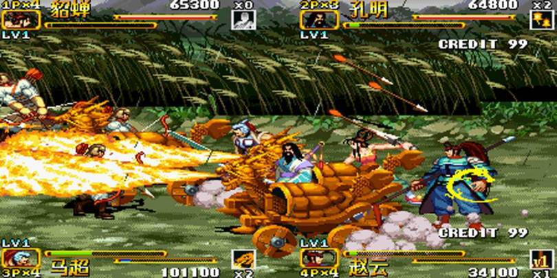 Knights of Valor classic arcade