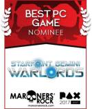 Best PC Game Nominee - Starpoint Gemini Warlords