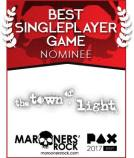 Best Single Player Game Nominee - The Town of Light