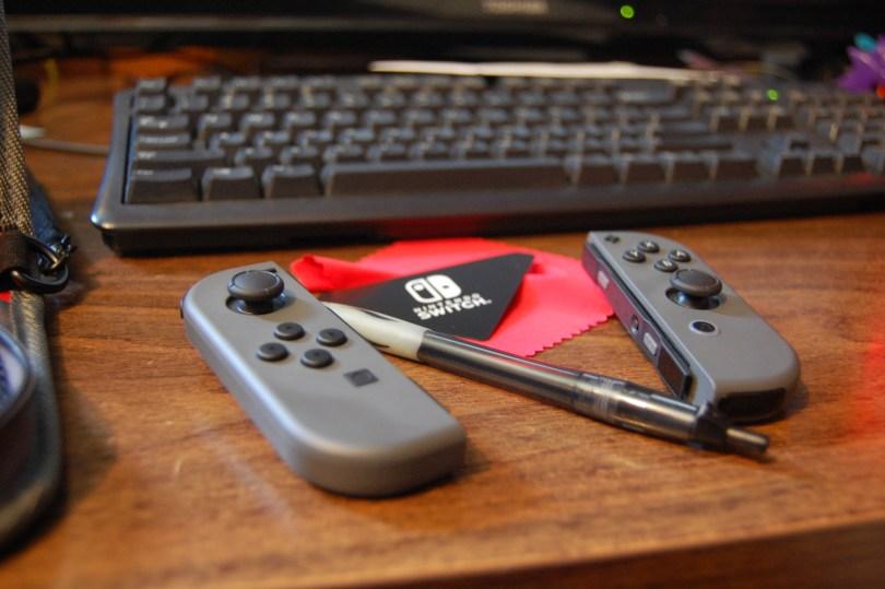 Nintendo Switch Joy Con size