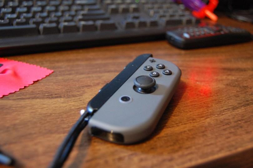 Nintendo Switch Joy con with strap