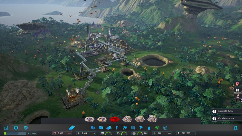 Aven Colony Screenshot Gameplay UI