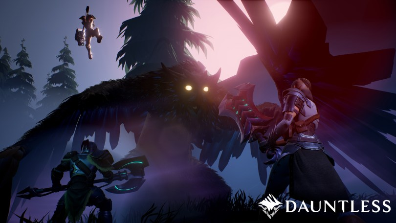 Dauntless PAX EAST Multiplayer screen