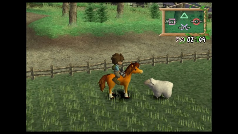Harvest Moon A Wonderful Life animals