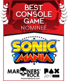 Best of PAX Nom Console Sonic Mania