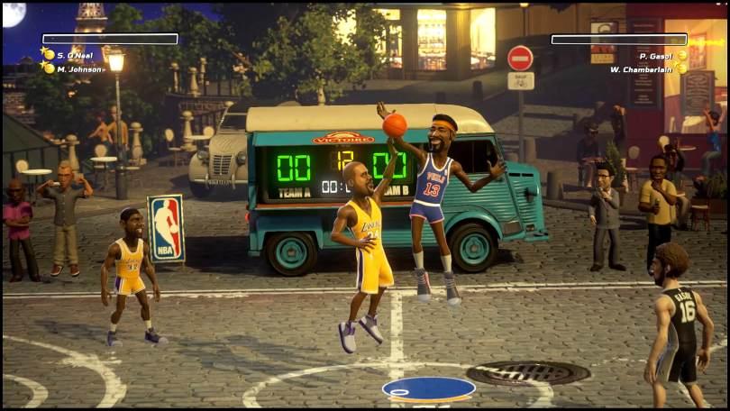 NBA Playgrounds scene 1