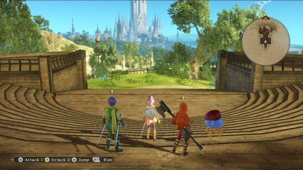 Dragon Quest Heroes 2 Open World