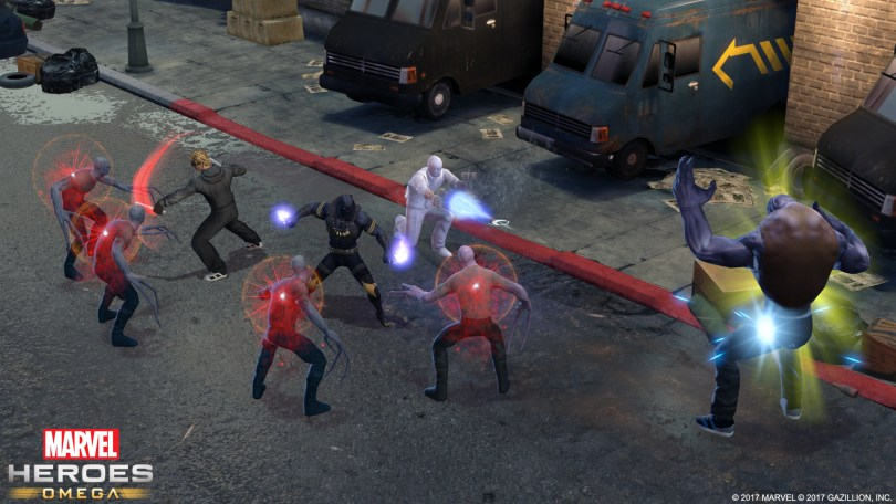 Marvel Heroes Omega Black Panther screen