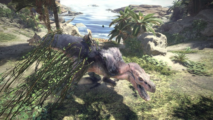 Monster Hunter World Mount and Hazard