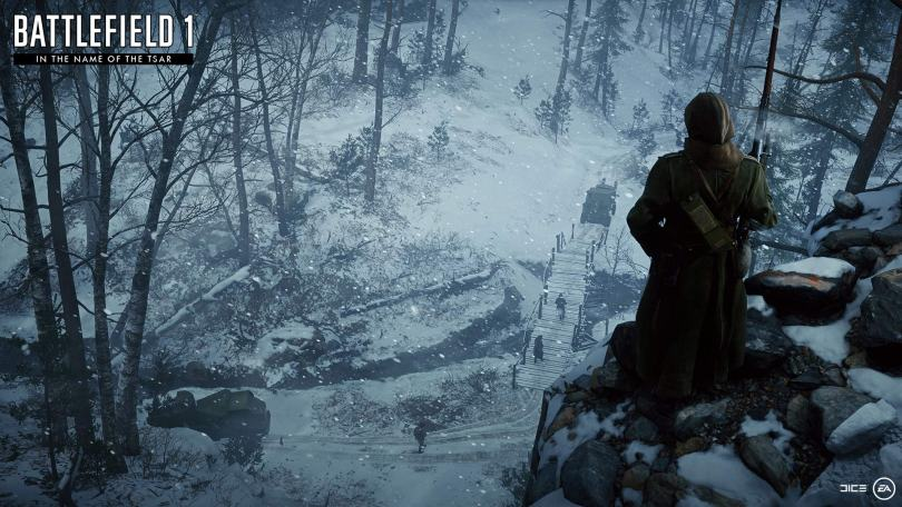 Battlefield 1 in the name of the tsar map 1