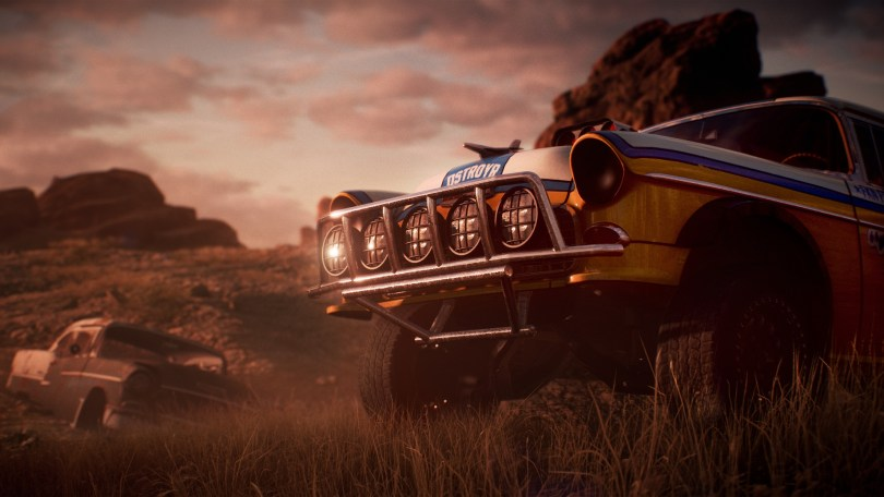 Need for Speed payback derelict to restored car