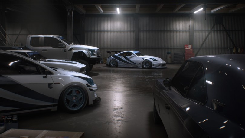 Need for speed garage
