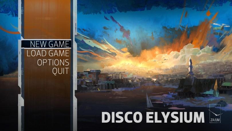 disco elysium title screen