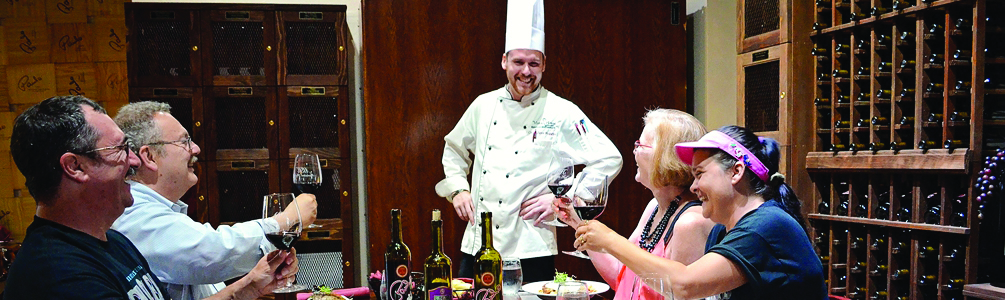 Messina Hof's Cooking Party with the Chef