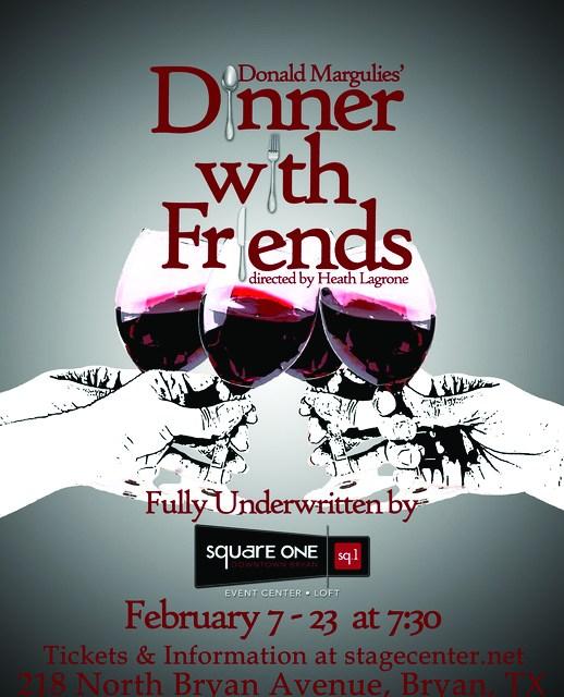 StageCenter Theatre: Dinner with Friends