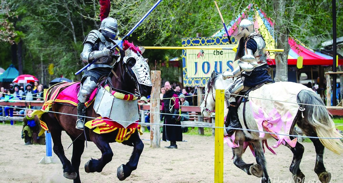 Medieval Life comes Alive at the Sherwood Forest Faire