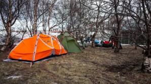 """coin """"planqué"""" pour 2 nuits à Akureyri"""