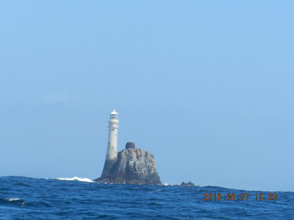 La photo qui prouve qu'on était bien en Irlande : le Fastnet