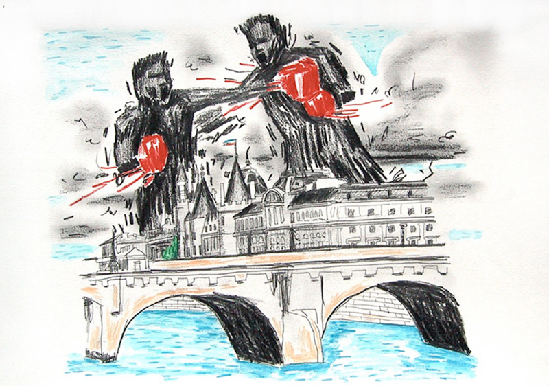 Lennon Jno-Baptiste - Untitled (Boxer - Bridge)