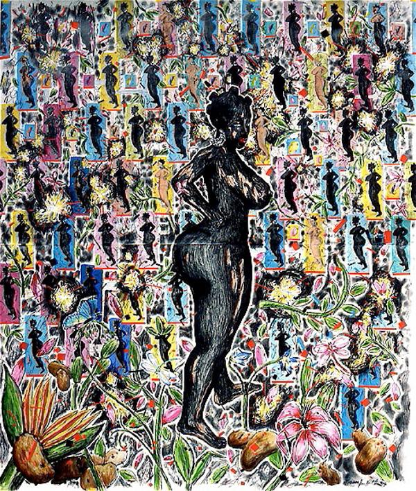 Lennon Jno-Baptiste - Untitled (Venus3 - Potatoes Explosion pattern)