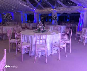 Image of Marquees Direct table chairs