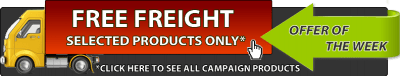 Free freight of the week campaign